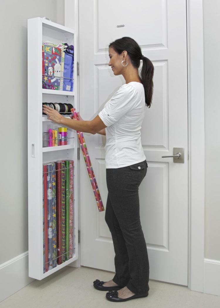 Behind-The-Door Hidden Cabinet System | Storage ideas | Pinterest ...
