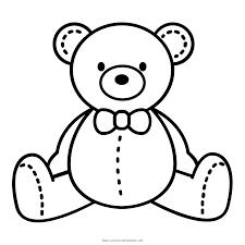 Resultado De Imagen Para Dibujo De Oso Para Colorear Teddy Bear Coloring Pages Teddy Bear Quilt Pattern Bear Stencil