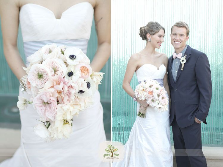 Love The Flowers And Dress Nautical Wedding Themebeach