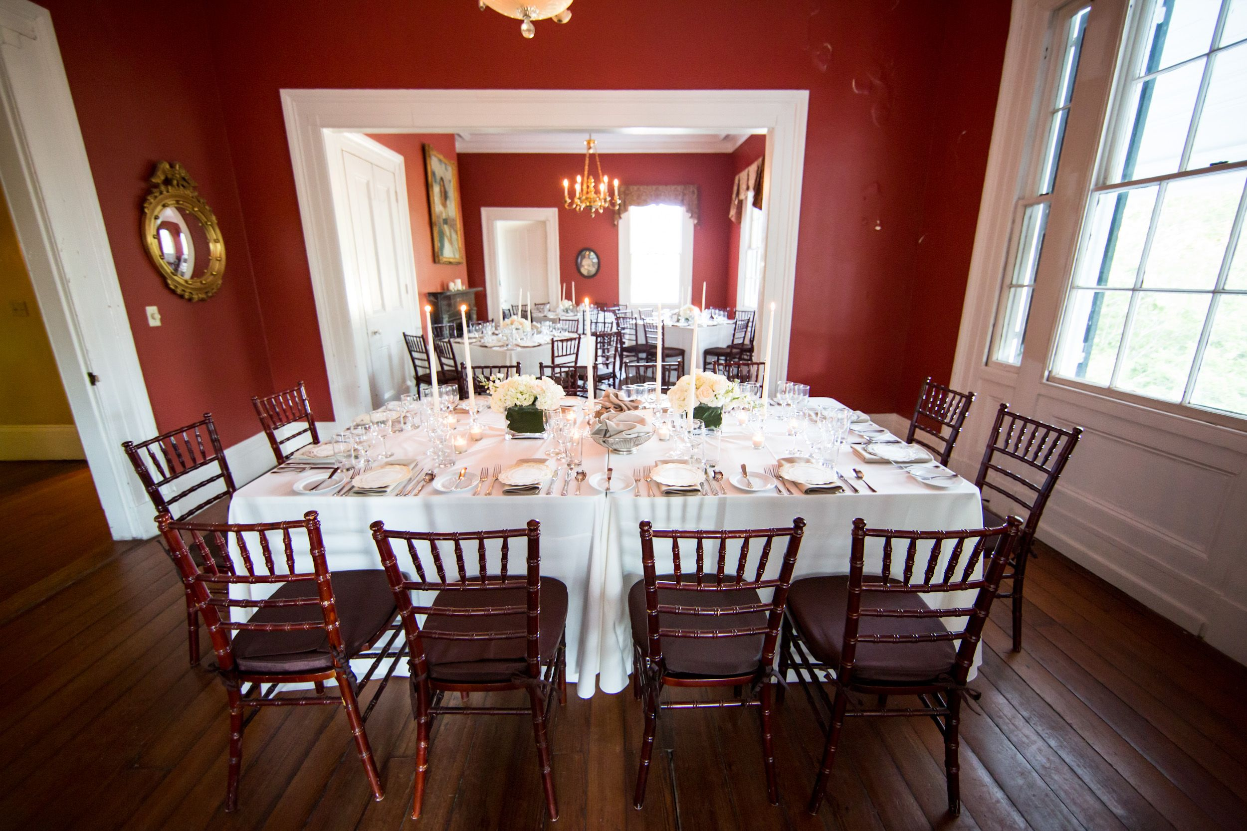 The Wickliffe House Second Floor Set For Seated Dinner Interior Wickliffe House