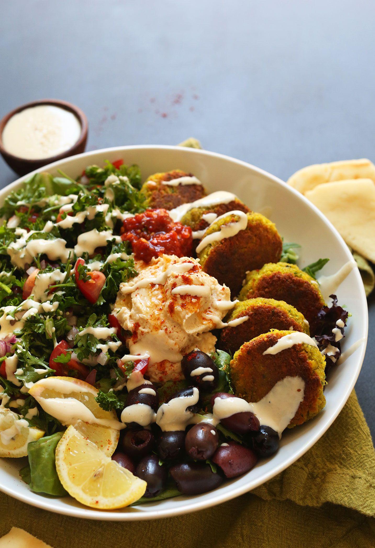 Ultimate Mediterranean Bowl Minimalist Baker Recipes Recipe Mediterranean Bowls Food Recipes