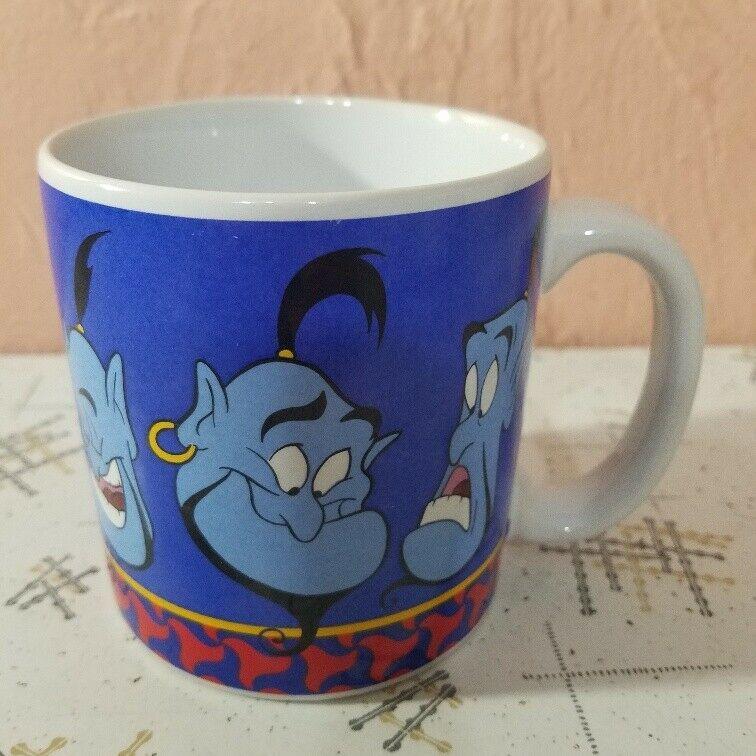 Disney Classics Aladdin Faces Of Genie Coffee Mug Tea Cup 10 Oz Disney Mugs Classic Disney Coffee Mugs