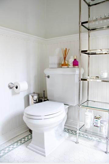 Titan And Co   Bathrooms   Etagere, Glass, Shelves, Silver, Gray,