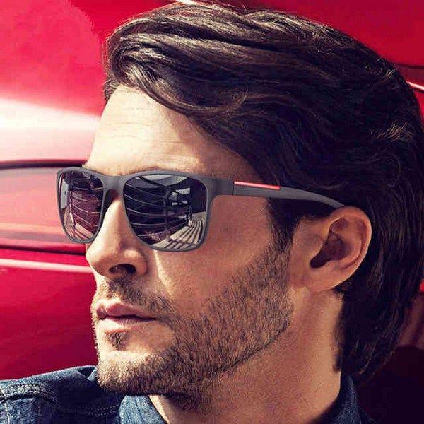 Трендовые мужские солнечные очки 2019-2020 года  лучшие модели, новинки,  фото   Мода, стиль, имидж, образы   Pinterest   Очки, Солнцезащитные очки и  Мода c3dea4472c2