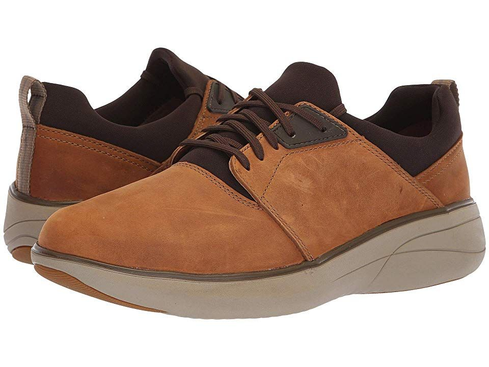 Herrenschuhe Mens Clarks Wave Walk Casual Lace Up Shoes