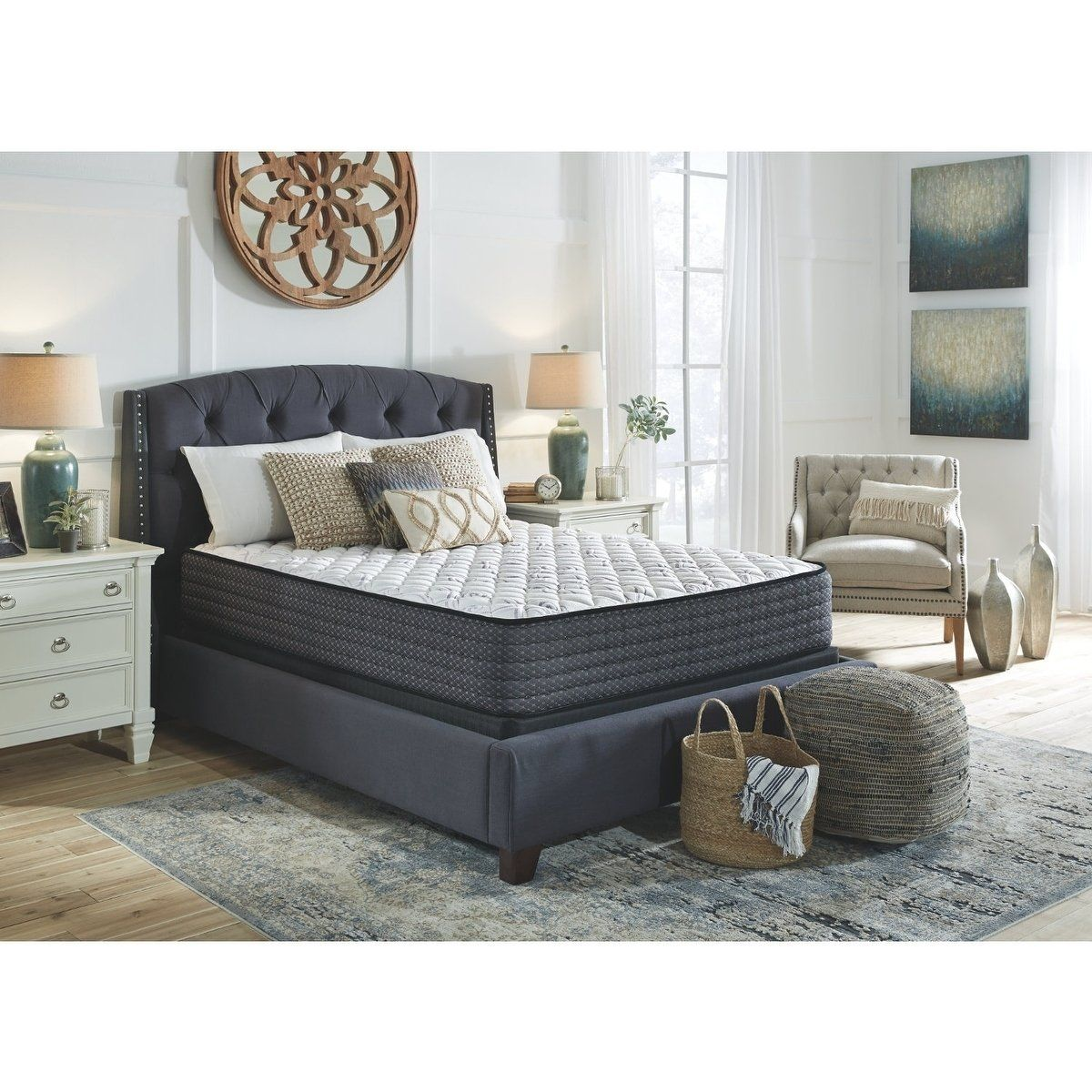 Beautyrest BR800 13-inch Plush Pillow Top Mattress Set - N/A #pillowtopmattress