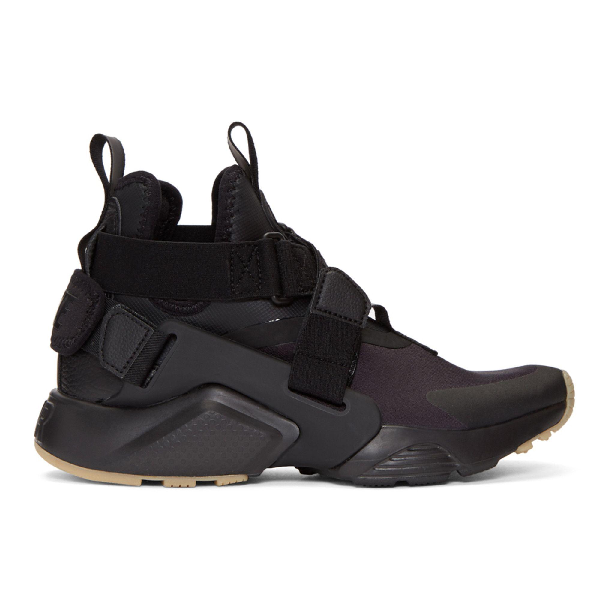 wholesale sales elegant shoes outlet boutique Nike - Black Air Huarache City Sneakers in 2019 | Black ...