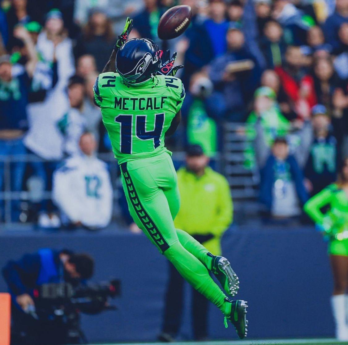 Dk Metcalf Seattle Seahawks Football Seahawks Football Nfl Seahawks