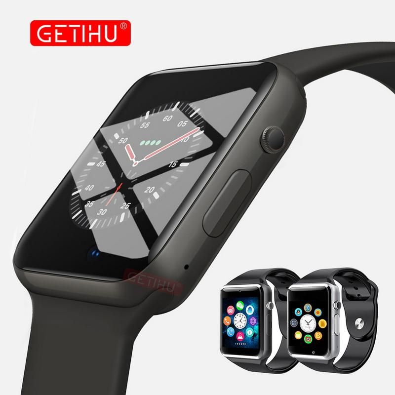GETIHU Smart Watch A1 Smartwatch For Apple iPhone Android
