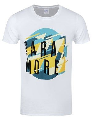 5c1a970cfeb American rockers Paramore are back with a bang! This awesome tee sees the  bands name