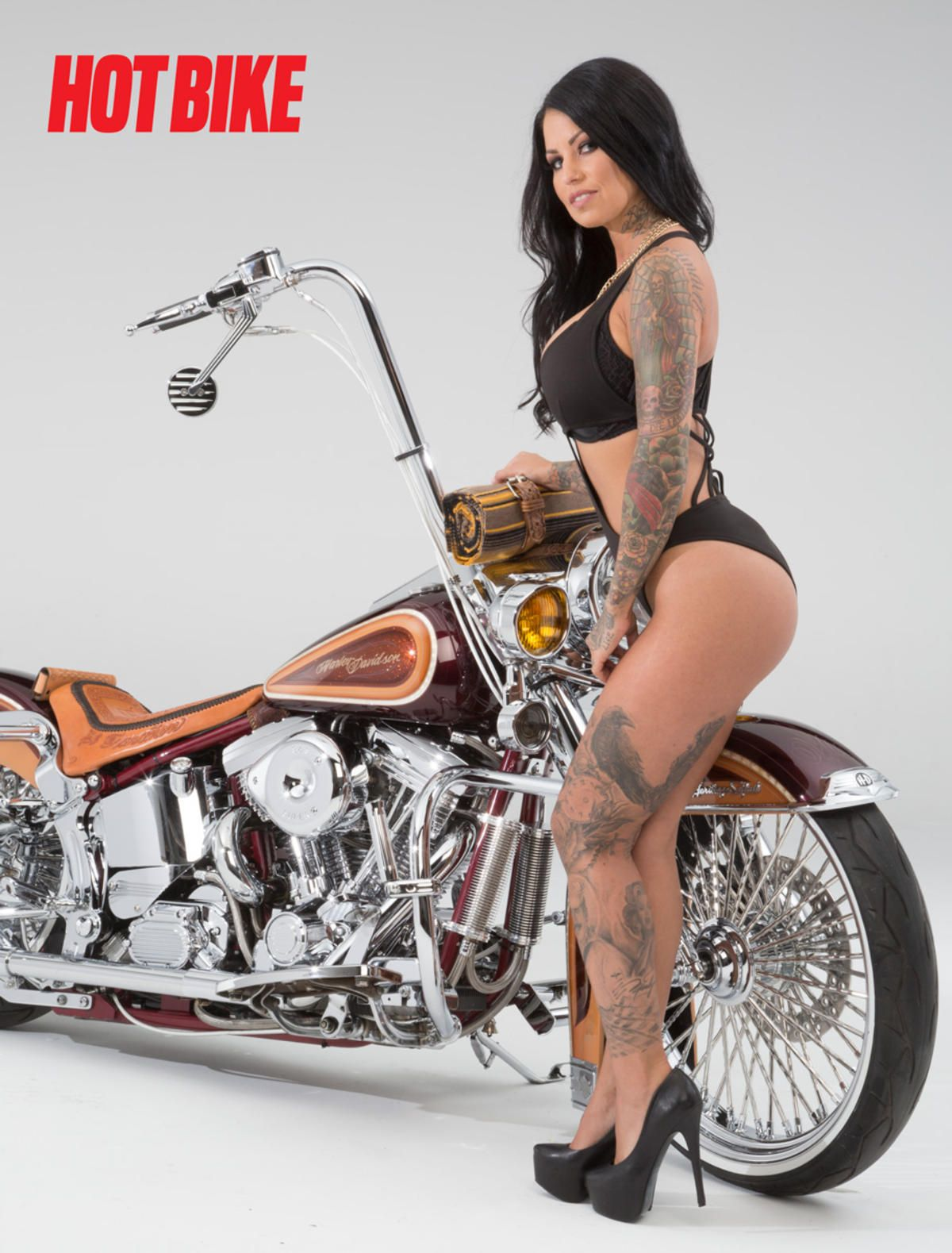 Hot Bike Model Vida Santos