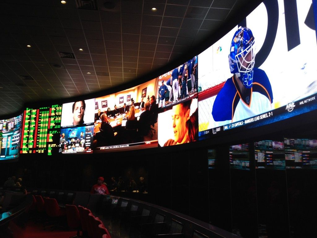 Palms Hotel Las Vegas new sports book...I'm ready for a