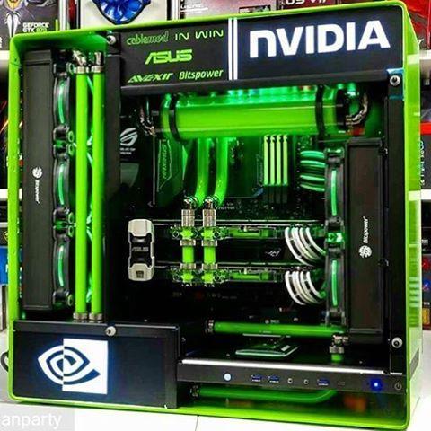 Construction De Nvidia Water Cooling Vert Sli Catre