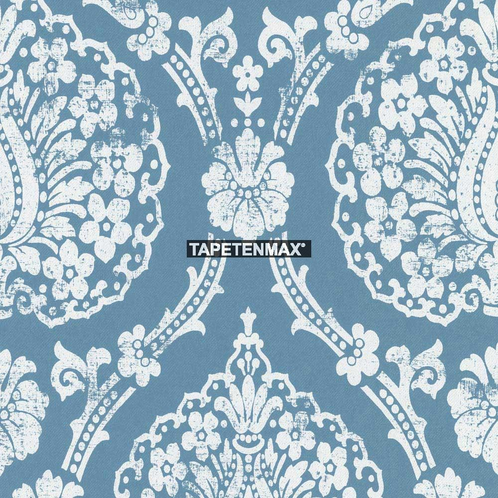 scandinavian vintage marburg vliestapete tapeten nr 51652 in den farben blau jetzt bei. Black Bedroom Furniture Sets. Home Design Ideas