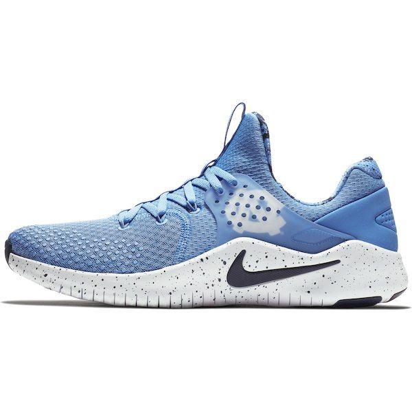hot sale online eeea9 e8e3c North Carolina Tar Heels Nike Free TR V8 Shoes – Carolina Blue White    Clothes   Carolina blue, Nike free, Tar heels