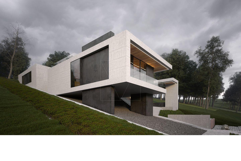 HOUSE ON THE HILL | Architecture | Pinterest | Architektur und Häuschen