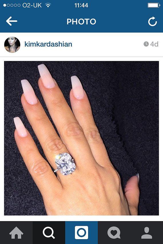 Natural nails kim kardashian, press on nails, false nails, glue on ...