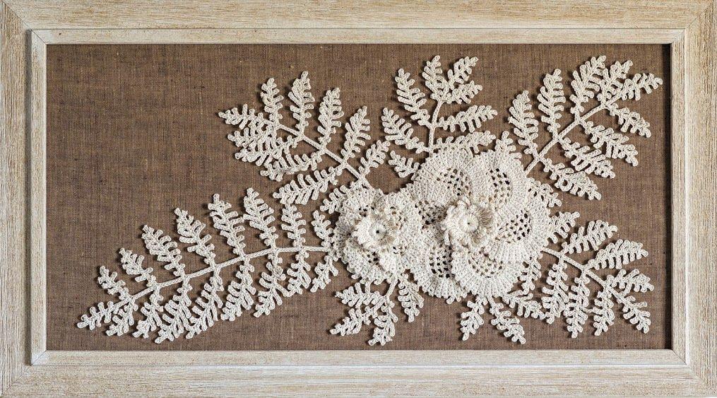 Outstanding Crochet: New motifs/patterns at IrishCrochetLab PARA FAZER UM QUADRINHO FORRADO COM JUTA.