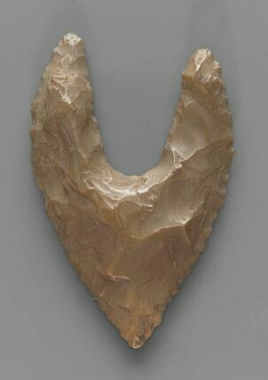 Neolithic Egypt hollow-based point