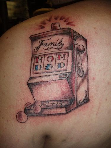 Tattoos of slot machines slot machines in tunica ms