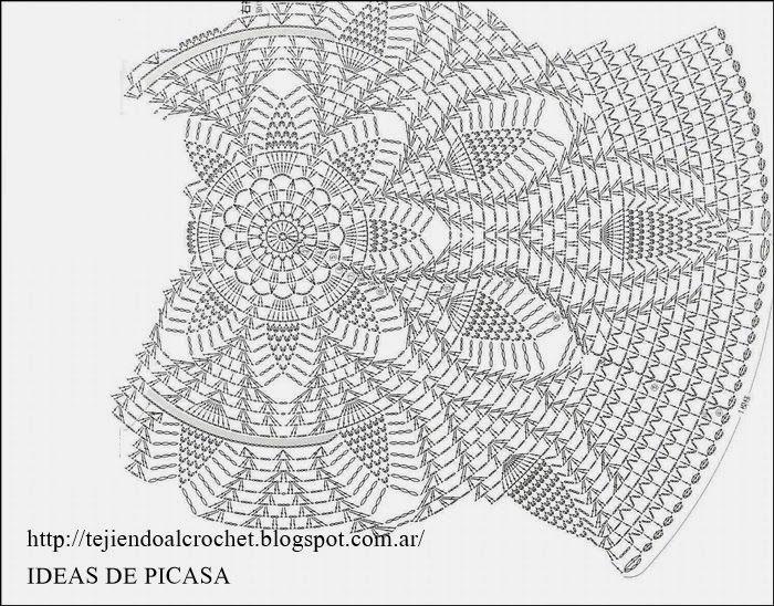 TEJIDOS A CROCHET - GANCHILLO - PATRONES: CHALECO | todo crochet ...
