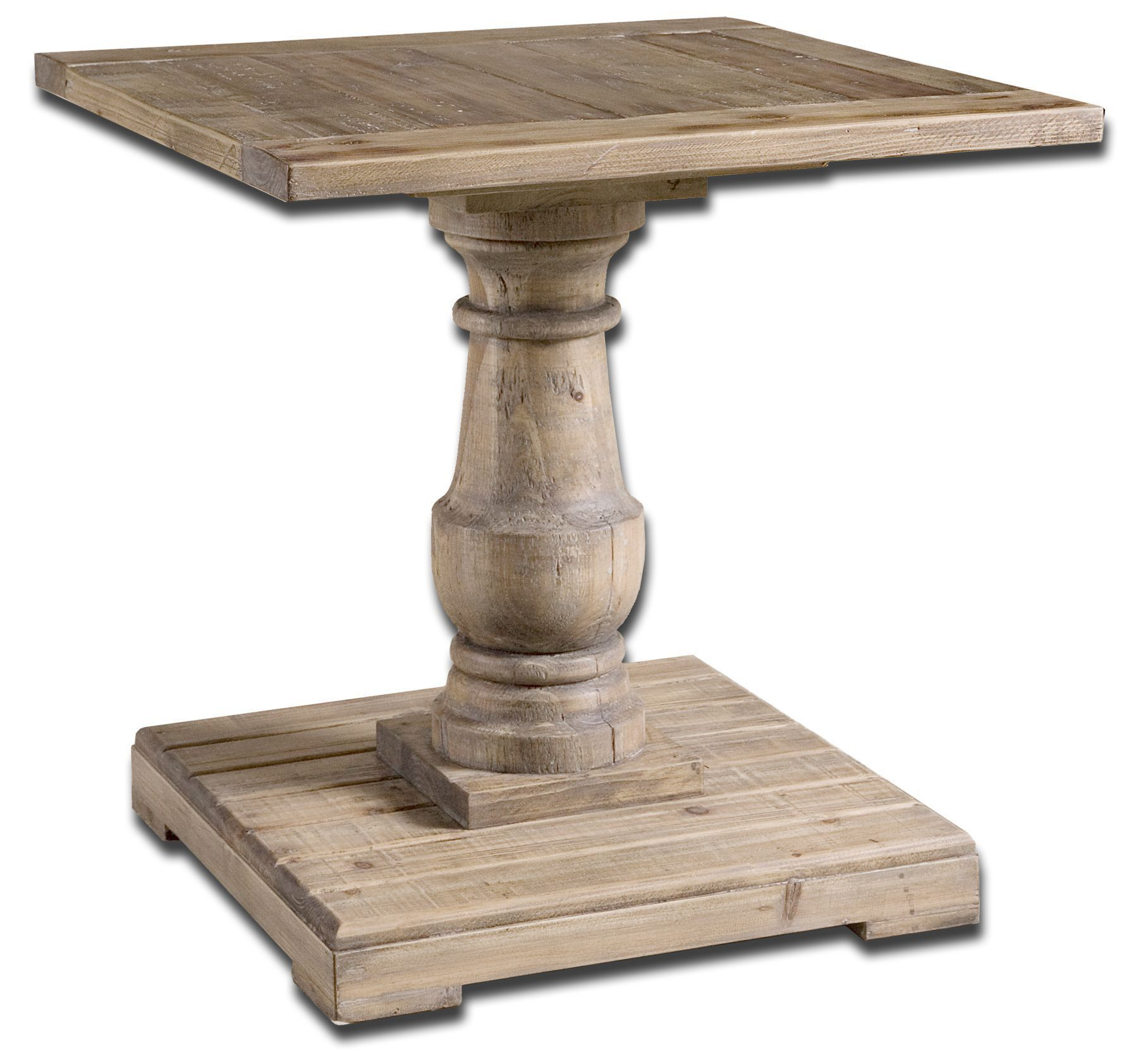 Stratford Pedestal End Table by Uttermost