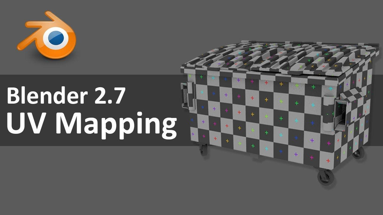 Blender 2.7 UV Mapping 2 of 4 Blender tutorial, Blender