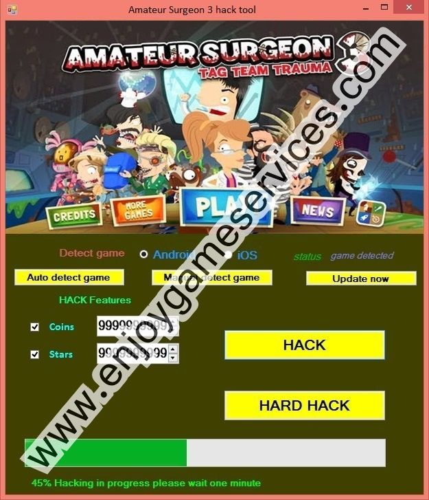 Free Flash Games Online - Amateur Surgeon on Adult Swim