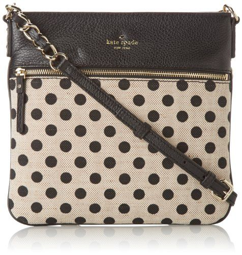 Kate spade new york cobble hill canvas dot ellen cross body bag kate spade new york cobble hill canvas dot ellen cross body bagblackwhite junglespirit Gallery