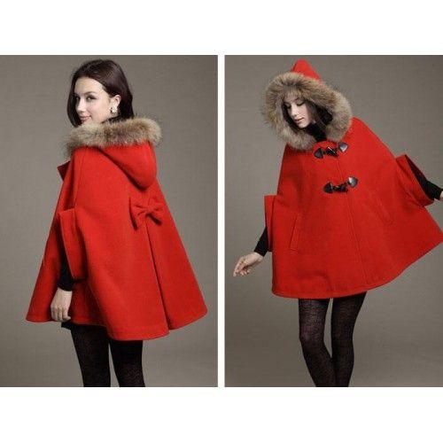 manteau cape pour femme pas cher