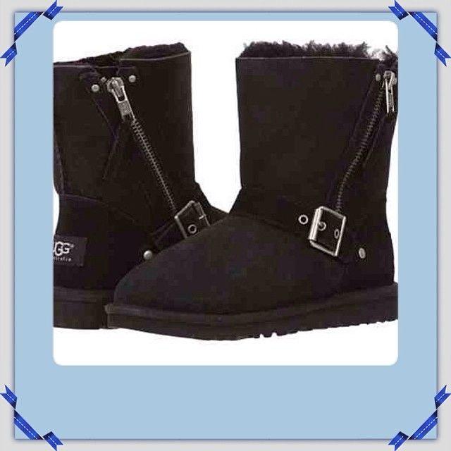 2bfa76923e8 UGG ® Renley Boot (Women) - Dual buckle straps enhance the vintage ...