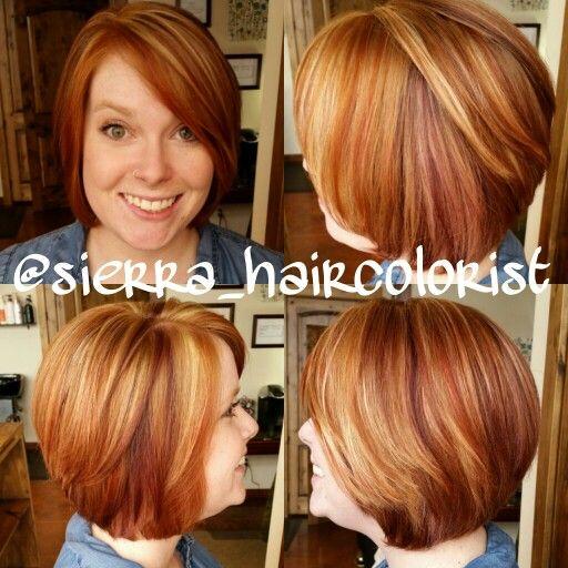 For redheads haircuts cute