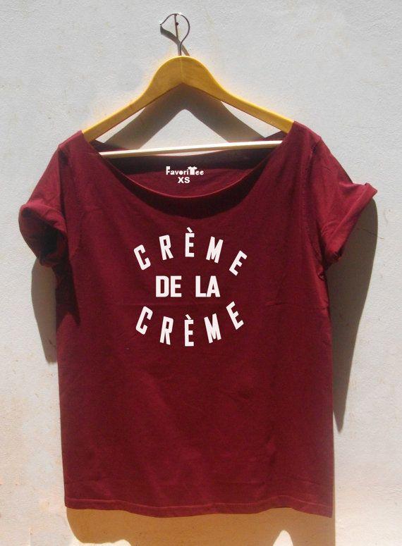 Creme De La Creme chemise Paris 80 ' s fashion au par FavoriTee