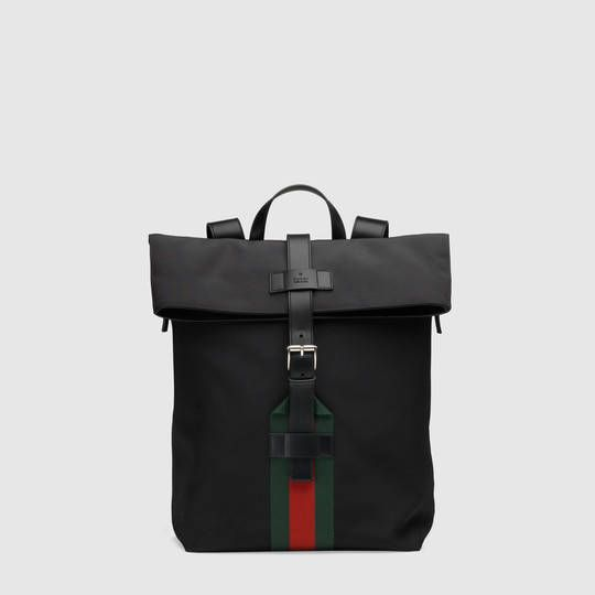 7c11ca513a44 Gucci Techno canvas backpack | His Outfits | Men's Backpack, Bags ...