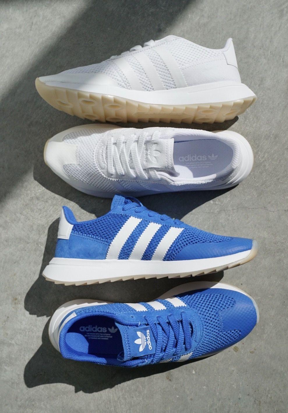 Adidas skate shoes zumiez - Adidas Flashback Blue White Womens Shoes