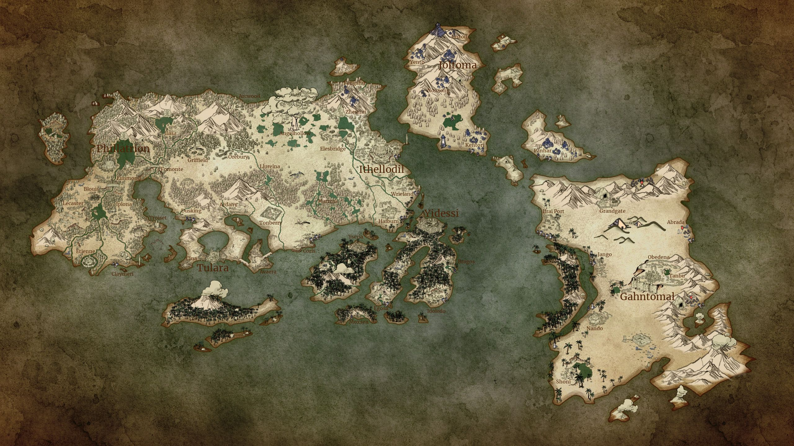 made with wonderdraft | High Magic World Build in 2019 | World, Map