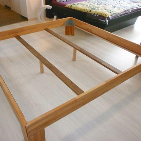 Bett selber bauen einfach  Boxspring Bett selber bauen mit dem Boxspringbett Umbau Set 79 ...