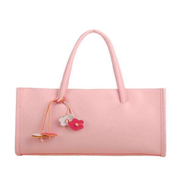 Bettina - 10 Colors Candy Leather Woman Shoulder Handbag