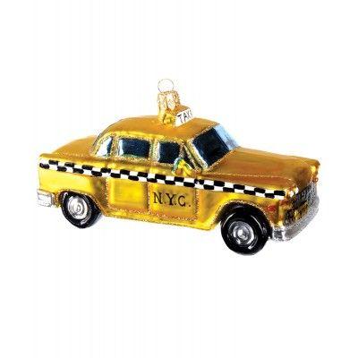 Christbaumschmuck Amerikanisches Taxi Weihnachtsbaumschmuck Auto