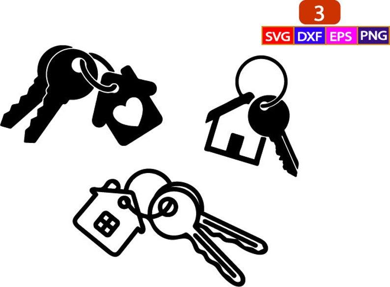 House Keys Svg House Keys Png Keys Clipart Home Keys Svg Etsy House Keys Fancy Houses Svg