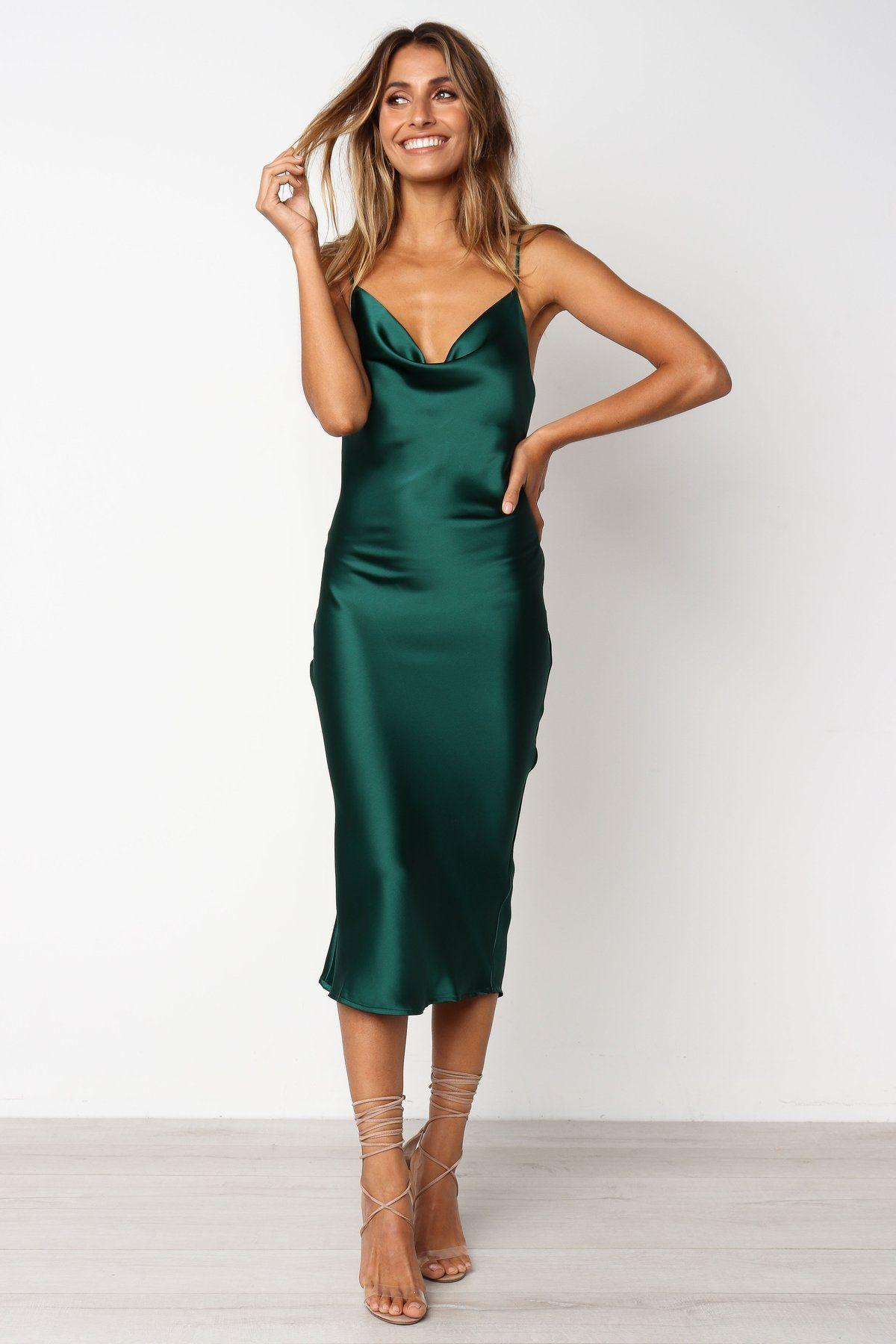 Persia Dress Green In 2020 Silk Bridesmaid Dresses Green Dress Green Silk Dresses