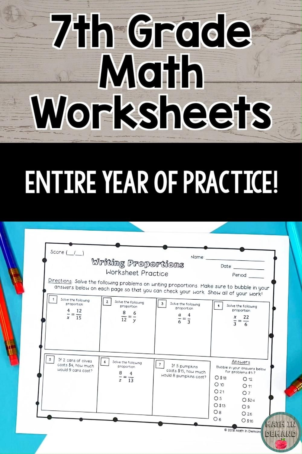 7th Grade Math Practice Worksheets Video In 2021 7th Grade Math Math Resources Math Practice Worksheets [ 1500 x 1000 Pixel ]