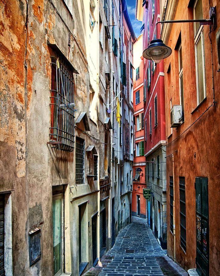 Genova, Liguria, Italy. earthroulette genova liguria