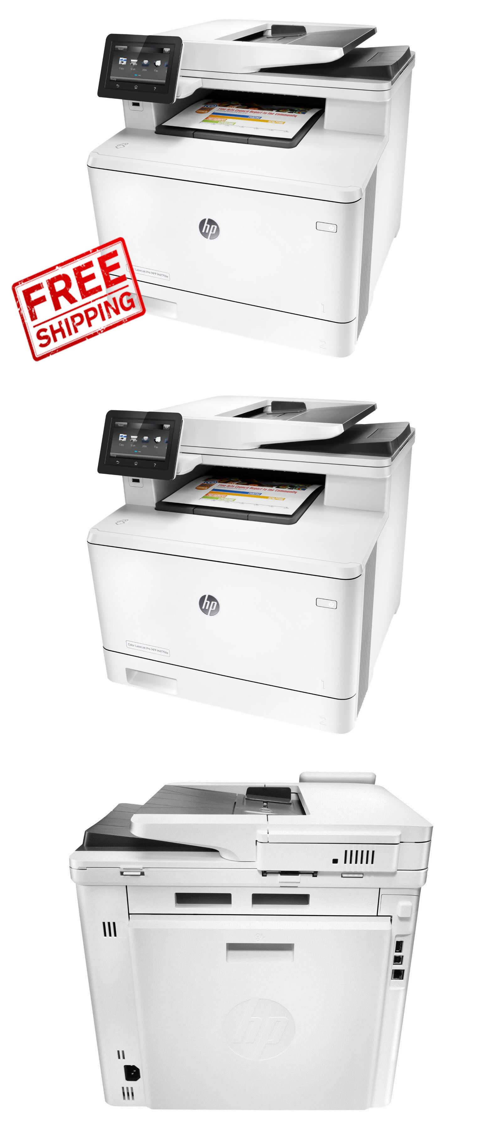 Printers 1245 Brand New Hp Color Laserjet Pro Mfp M477fdw Cf379a Buy It Now Only 423 75 On Ebay Printers Brand Color L Printer Laser Printer Color