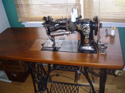 Singer 40W40 Hemstitch Machine EBay Heirloom Sewing Smocking Stunning How To Hemstitch On A Sewing Machine