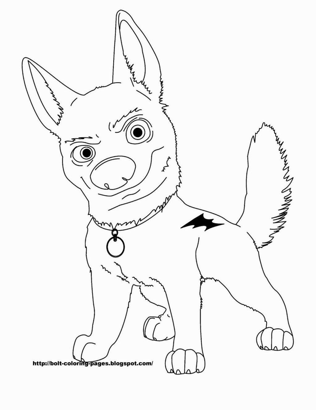 Bolt Coloring Page Coloring Pages Disney Coloring Pages Baby