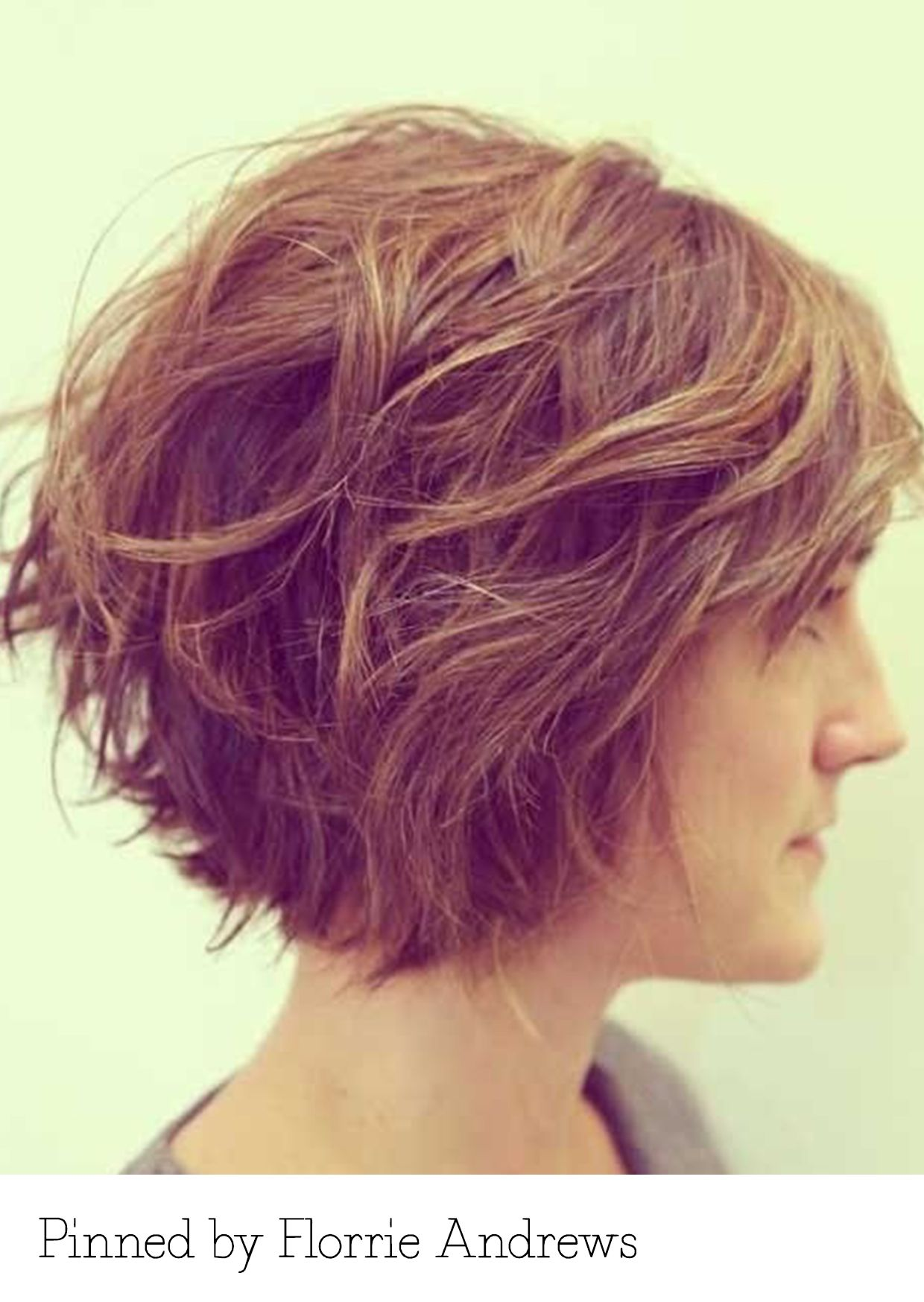 Layered bob pinned by florrie andrews recreate it here
