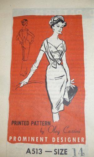 Prominent Designer A513 1950 S Women S Fashion Vintage