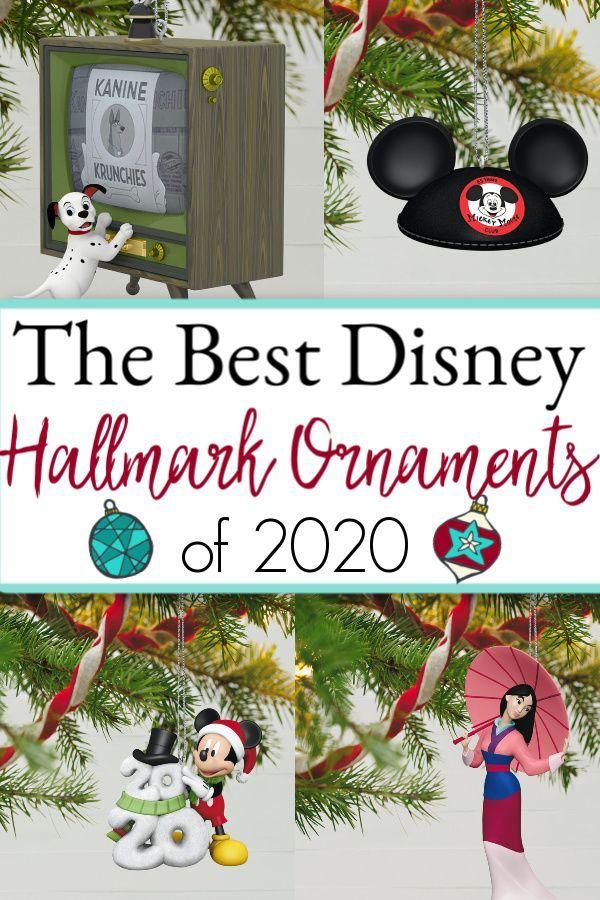 The Best Hallmark Disney Ornaments The StressFree