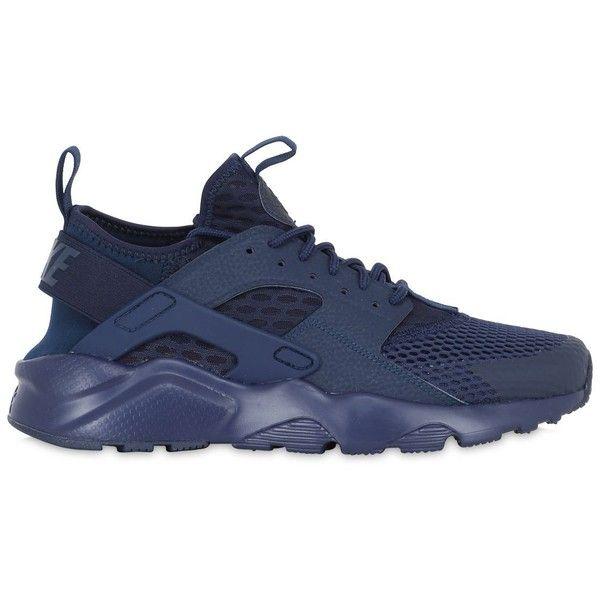 Apelar a ser atractivo puesto Distraer  Nike Men Air Huarache Ultra Mesh Sneakers | Nike, Navy blue sneakers, Air huarache  ultra